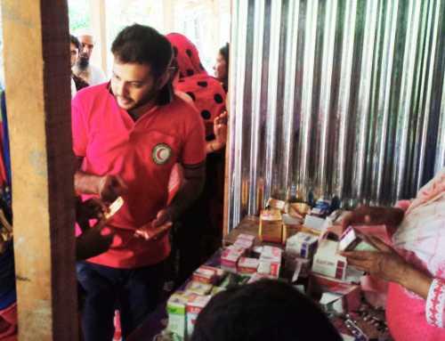 রাঙ্গাবালীতে ইয়াসে ক্ষতিগ্রস্তদের মাঝে বিনামূল্যে চিকিৎসা সেবা প্রদান